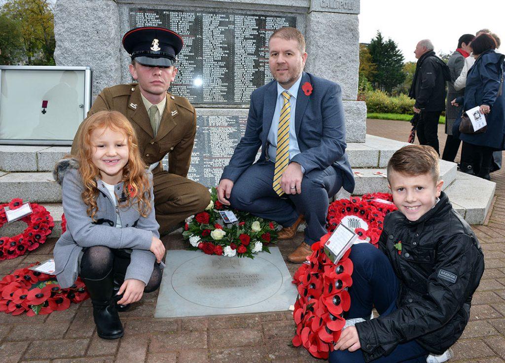 VC WW1 Hero Honoured