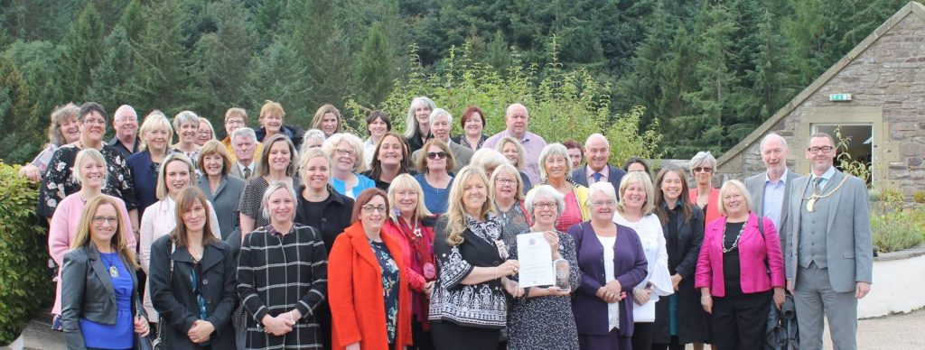 HEALTHY VALLEYS RECEIVES QUEEN'S AWARD FOR VOLUNTARY SERVICE
