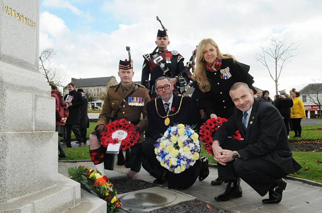 Great War hero commemorated in Carluke