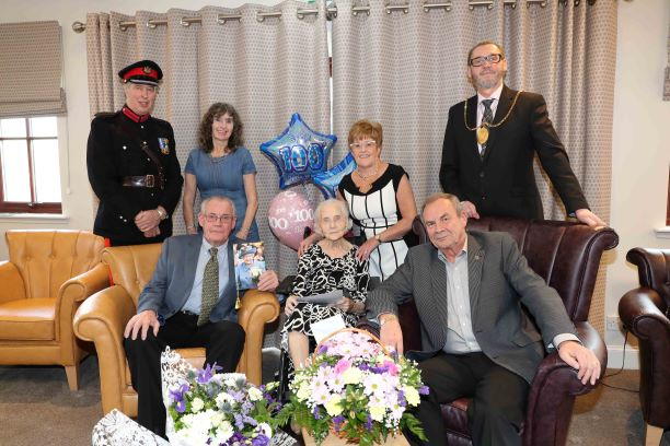 100th Birthday Celebration – Jean Eathorne
