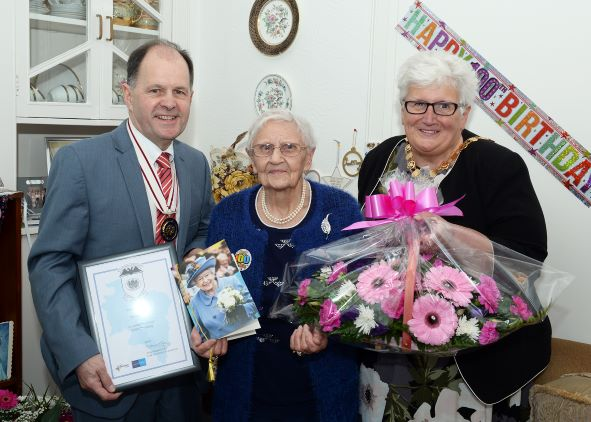 100th Birthday Celebration – May  Millar
