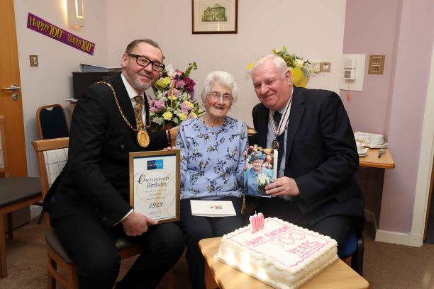 100th Birthday Celebration – Helen Bruce