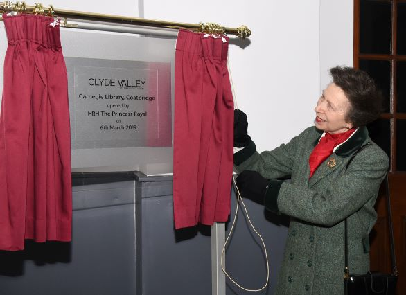 Princess Royal Opens New Housing Development in Coatbridge