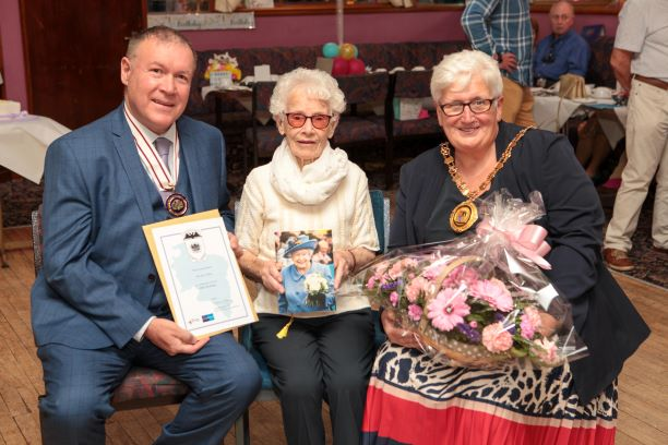 100th Birthday Celebration – Nan Aitken