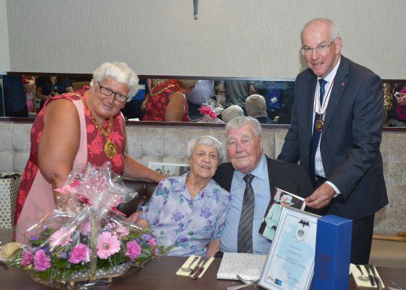 75th Diamond Wedding Anniversary – 14th July 2019