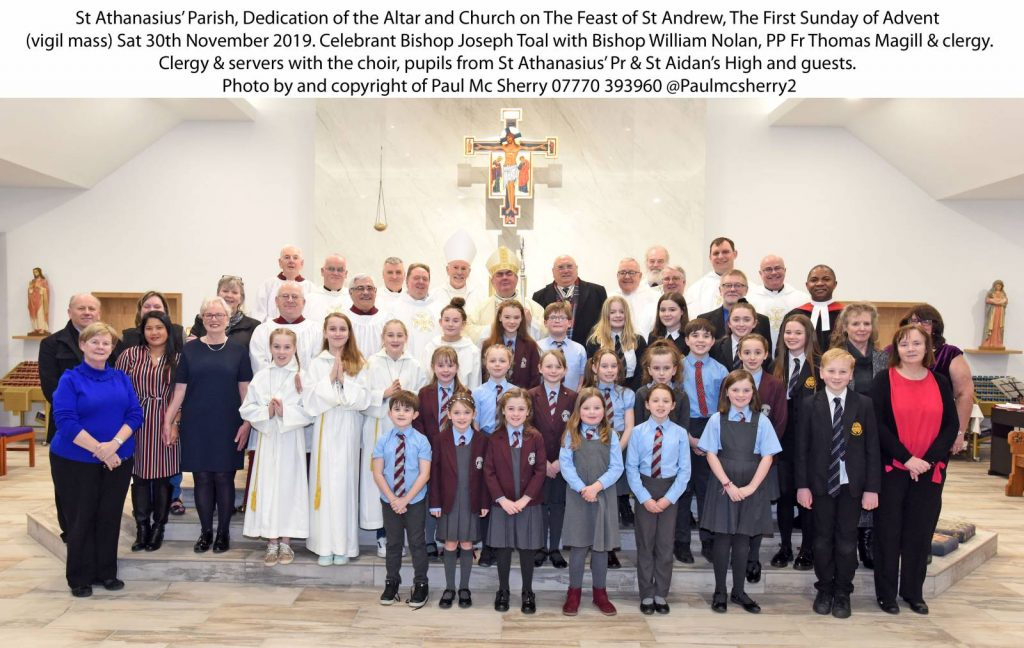 St Athanasius Carluke – Dedication Service